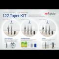 122 Taper Kit, χειρουργικό σετ εργαλείων της Hiossen
